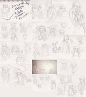 01 Nov 2015 sketch dump by Ugh-first-aid