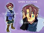 closed   $3 snowman - auction 3 by akfs-adopt