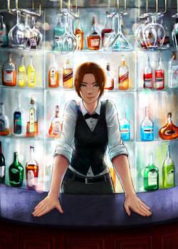 bartender by eleth-art