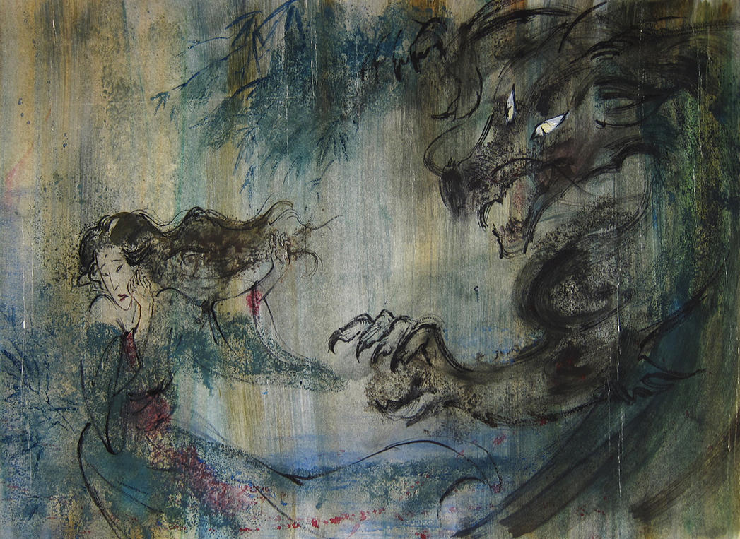 Japanese tale by eleth89