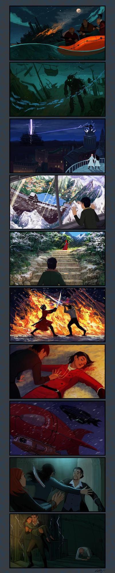 Mortal Engines explication III by eleth-art