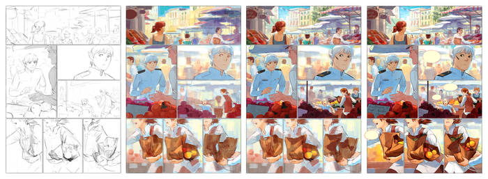 Page process by eleth-art