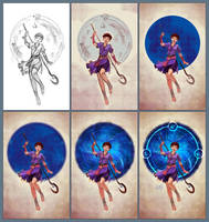 Jennifer - Commission steps by eleth-art
