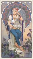 Commission: Art nouveau