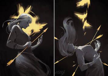 Huntress by eleth-art
