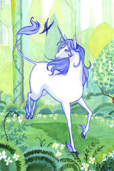 the last unicorn by eleth-art