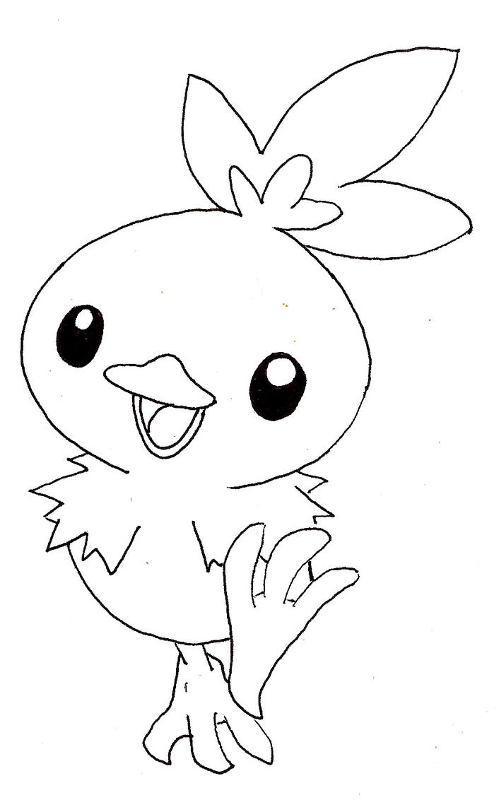 Torchic By Graysonlover Tozumi On Deviantart Torchic Coloring Pages