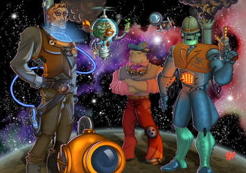 Future Crew Steampunked by Kawenzmann