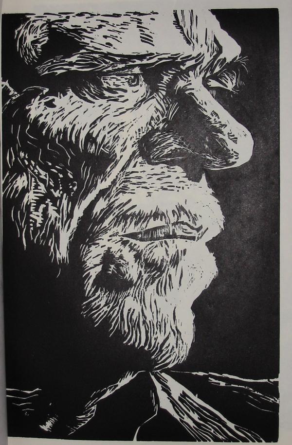 Charles Bukowski by snotrokitbill