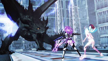 [MMD] Against Black Dragon