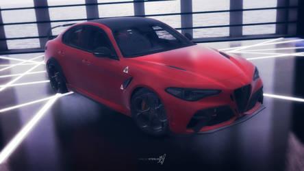 [MMD] Alfa Romeo Giulia GTAm by MaeveSterling