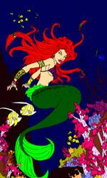 Ariel lineart 22 by lunatwo
