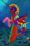 merpony Rainbow by lunatwo
