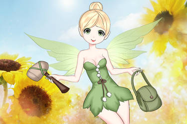 tinker bell 3 by lunatwo