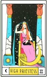 high priestess by lunatwo
