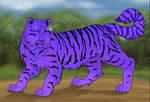 Purple Tiger by lunatwo