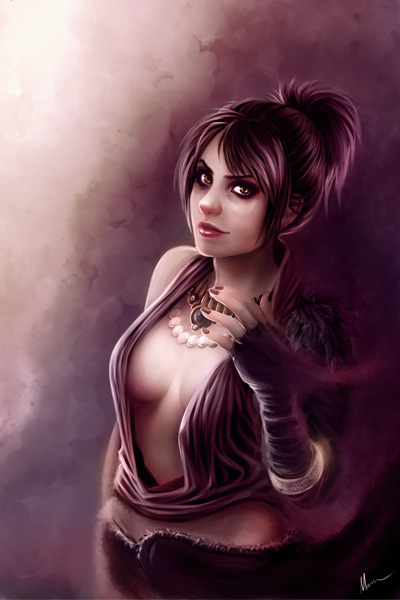 dragon age origins morrigan romance. New Morrigan art!