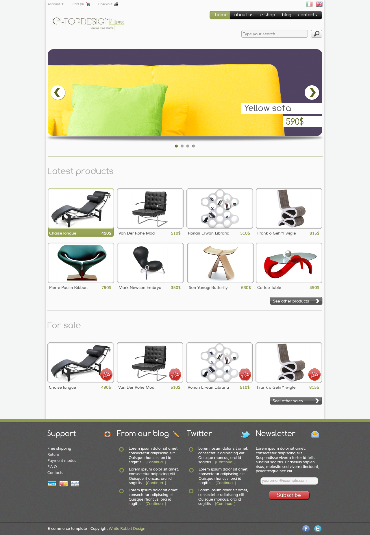 E-commerce layout by kekkorider on DeviantArt