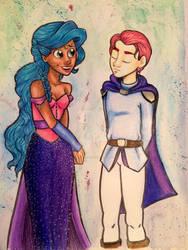 Princess Anaresia and her Prince