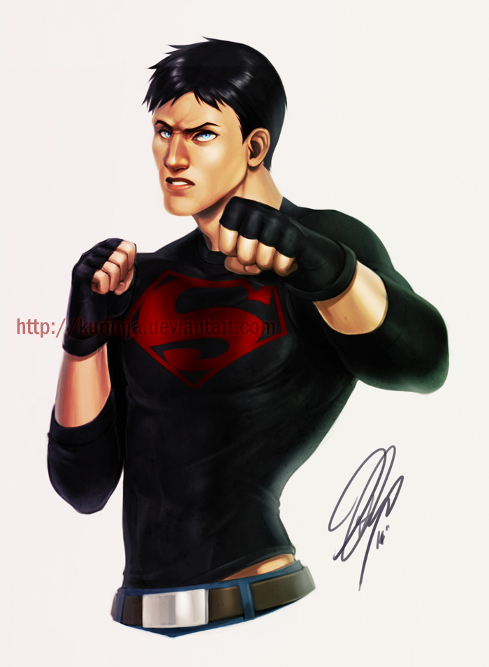 Young Justice - Superboy by kurimja