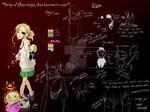 Ellie - Character sheet by kurimja
