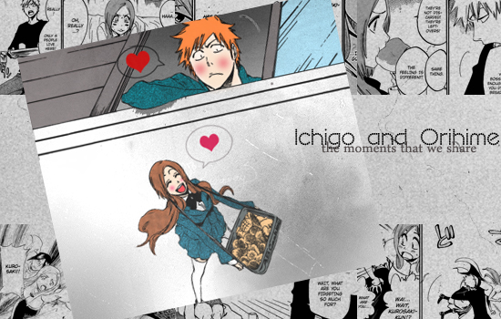 ichigo and orihime moments - photo #19