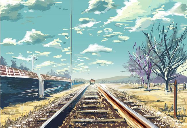 Train by vevew