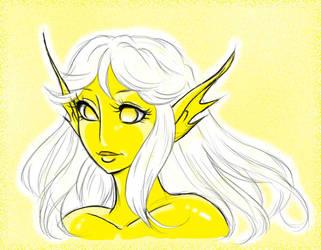 Light Spirit Female by KittMouri