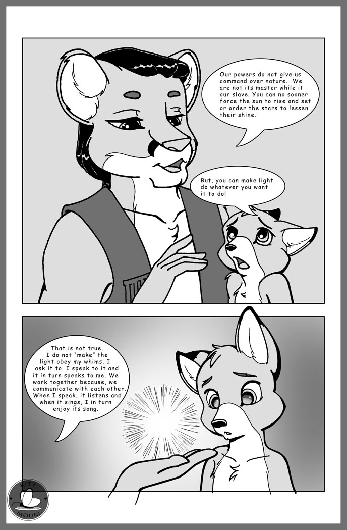 Hybrid: Gods and Demons No1Pg18 by KittMouri