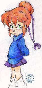 Pencil Sketch - Jeanette