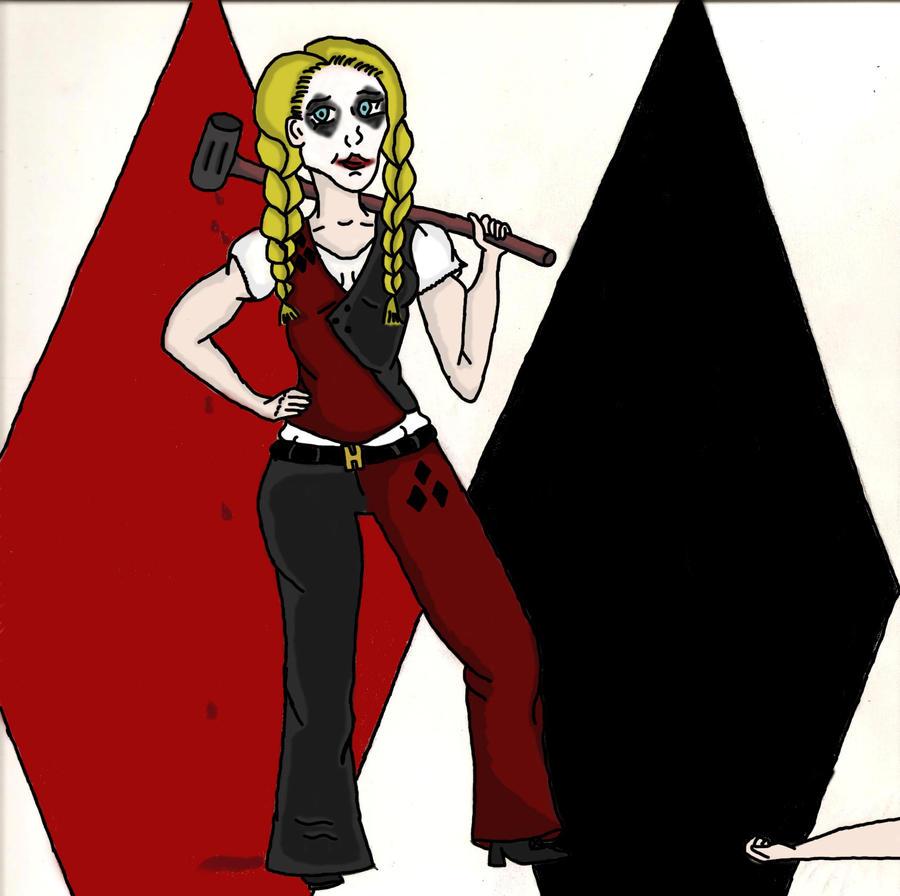Harley Quinn Suit by JadziaVu