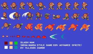 SlashMan 8-bit