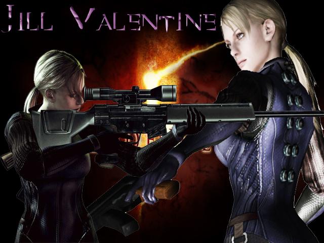 Jill Battlesuit Re5 Bg By Star Light On Deviantart