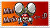 Mini Mario Stamp by SuperTeeter64