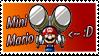 Mini Mario Stamp by SuperTeeter64