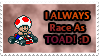 Mario Kart Toad Stamp by SuperTeeter64