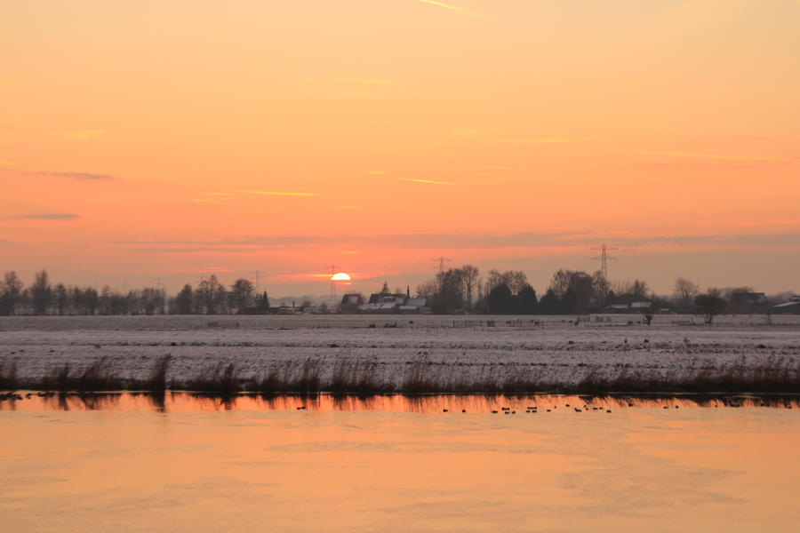 12-12-08 The Sunset 13 by Herdervriend