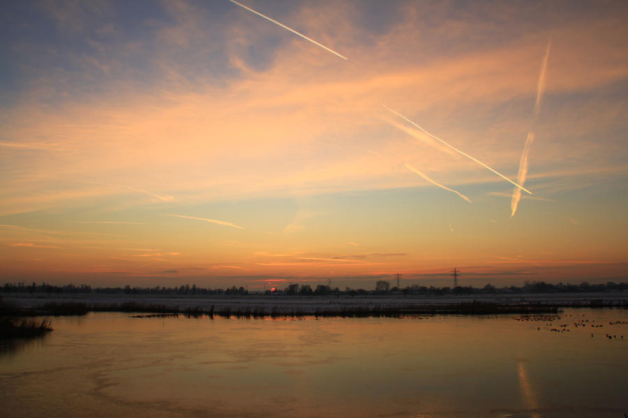 12-12-08 The Sunset 18 by Herdervriend