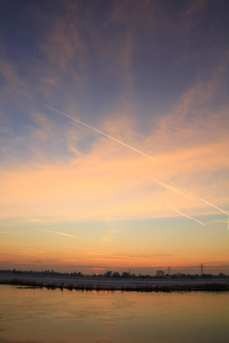 12-12-08 The Sunset 19 by Herdervriend