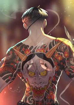 Yakuza_The Mad Dog of Shimano (PRINT)