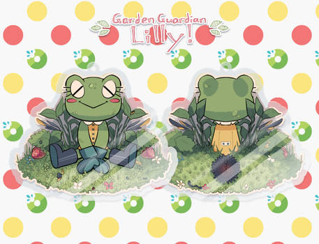 Garden Guardian_Hard Day's Work (ACRYLIC CHARMS)