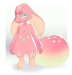 Auction_One Off_Pastel Monster (CLOSED) by BagelHero-Works