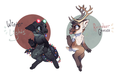 Hobblins_Winter Lights (AUCTION, CLOSED) by BagelHero-Works