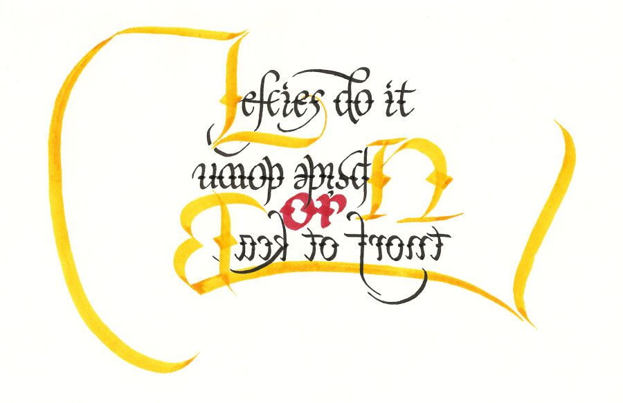 Lefthanded calligraphy by goingforth on deviantart