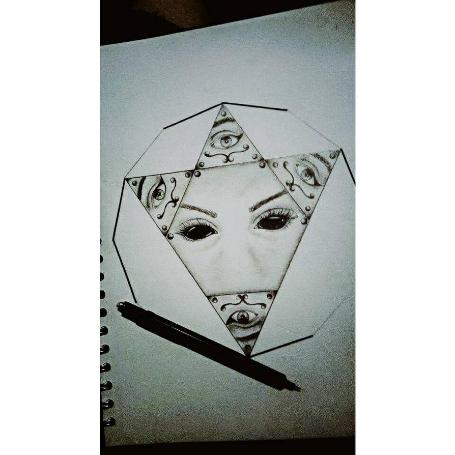 All Seeing Eye Tattoo Design By Dempsey21