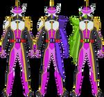 Kamen Rider Scabbard: All Forms