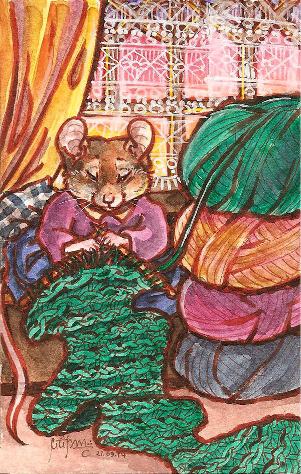 knitting by ThePyf