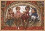 christmas in hogwarts