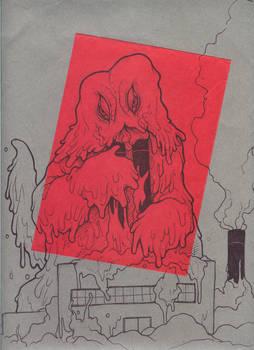 The Smog Monster Hedorah