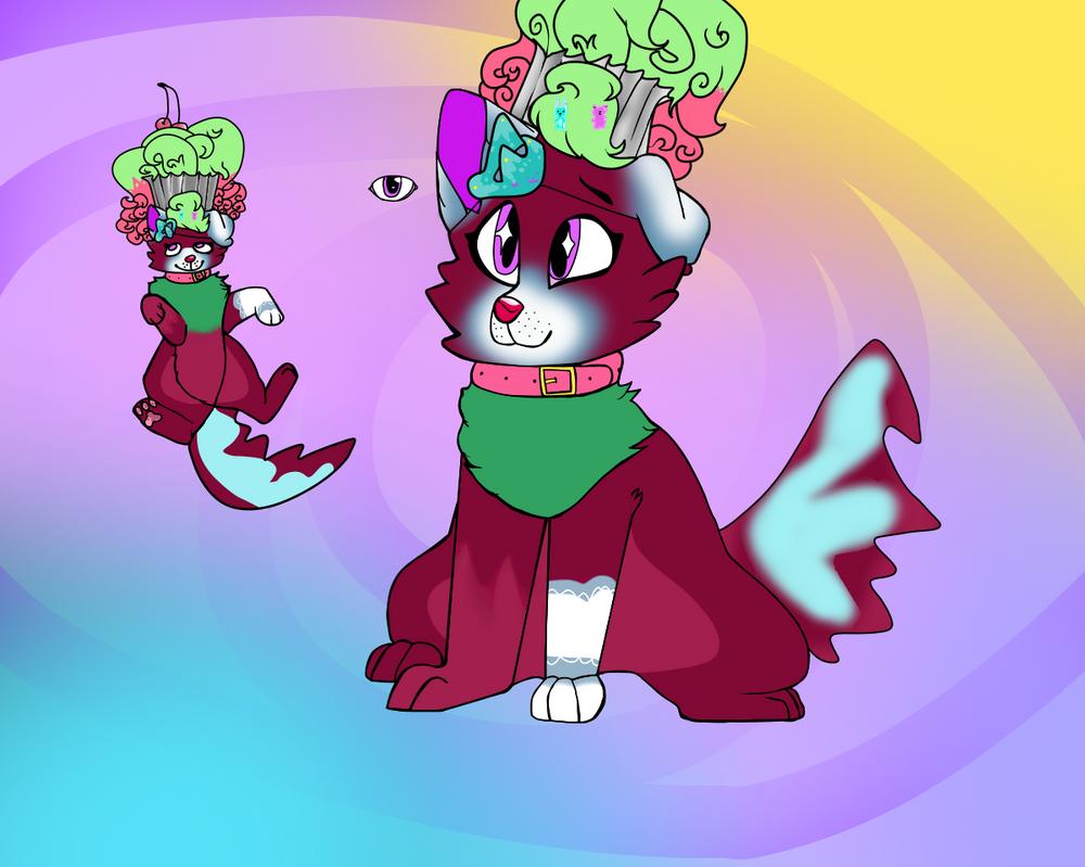 Cupcake Dog character #5. by tinypandas2208